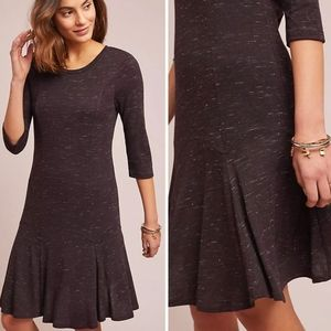 ANTHRO DOLAN LEFT COAST 3/4 sleeve swing dress